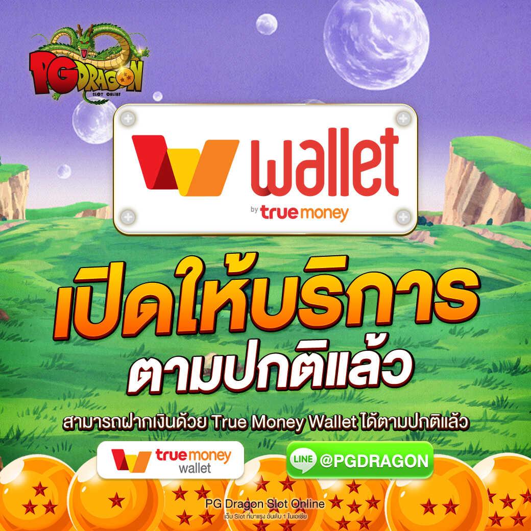 pgdragon ให้บริการ True wallet